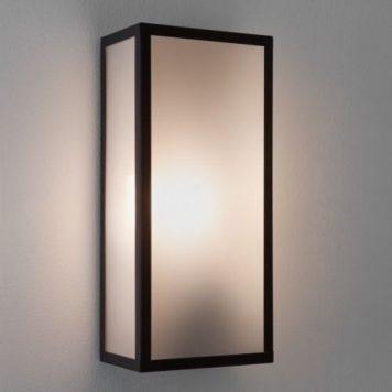 Messina Lampa zewnętrzna – szklane – kolor Czarny