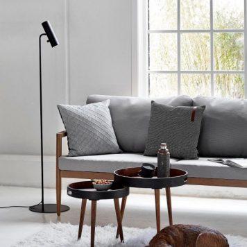 MIB Lampa podłogowa – Styl nowoczesny – kolor Czarny