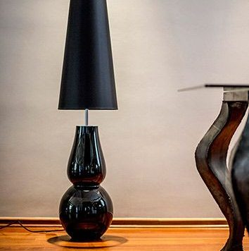 Milano Lampa nowoczesna – szklane – kolor Czarny