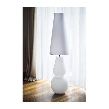 Milano Lampa stołowa – szklane – kolor biały