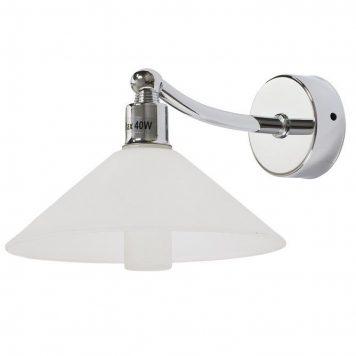 Milton Lampa klasyczna – klasyczny – kolor biały, srebrny