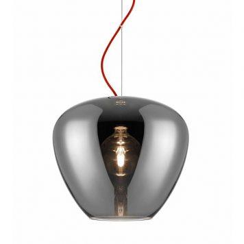 Minas Lampa wisząca – Styl nowoczesny – kolor połysk, Szary