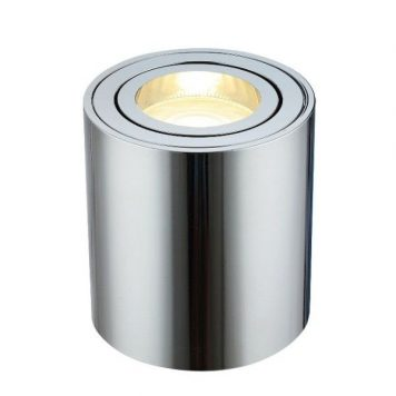 Mini  Plafon – Oczka sufitowe – kolor srebrny
