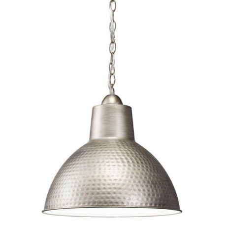 Missoula  Lampa wisząca – industrialny – kolor srebrny