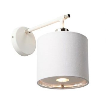Modern  Lampa nowoczesna – Styl modern classic – kolor biały