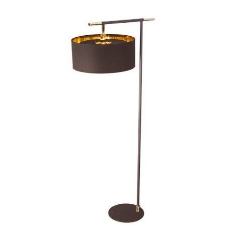 Modern  Lampa podłogowa – Styl nowoczesny – kolor brązowy