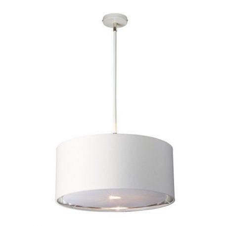 Modern  Lampa wisząca – Z abażurem – kolor biały