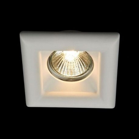 Modern  Oczko/spot – Gipsowe – kolor biały