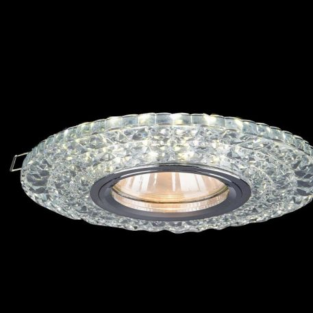 Modern  Oczko/spot – Oczka sufitowe – kolor srebrny, transparentny