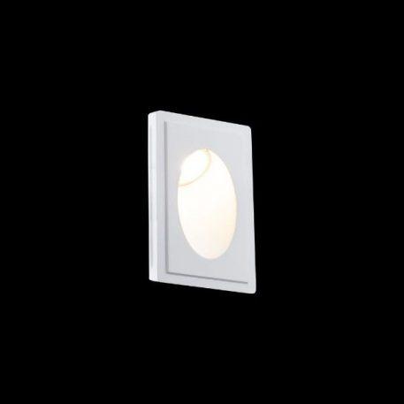 Modern  Oczko/spot – Styl nowoczesny – kolor biały