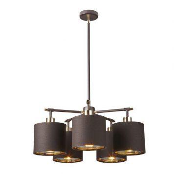 Modern  Żyrandol – Styl nowoczesny – kolor brązowy