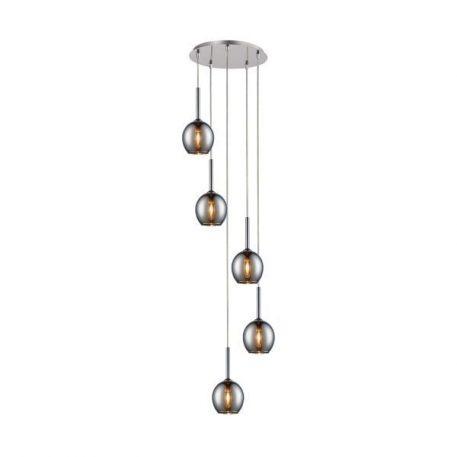 Monic  Lampa wisząca – Styl nowoczesny – kolor srebrny