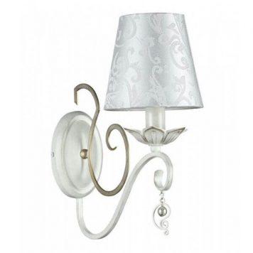 Monile Lampa klasyczna – Z abażurem – kolor biały
