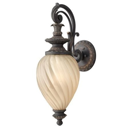 Montreal Lampa zewnętrzna – klasyczny – kolor beżowy, brązowy