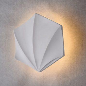 Moods Lampa LED – Gipsowe – kolor biały