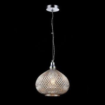 Moreno Lampa wisząca – szklane – kolor srebrny, Szary