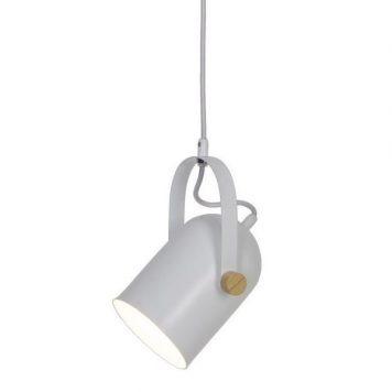 Moris  Lampa wisząca – Styl skandynawski – kolor biały
