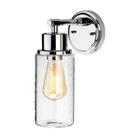 Morvah Lampa industrialna – industrialny – kolor srebrny, transparentny