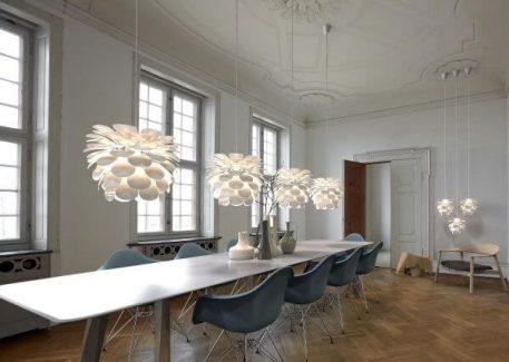 Motion Lampa wisząca – Styl nowoczesny – kolor biały