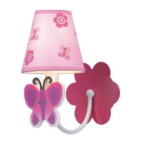Motylek Kinkiet – kolor różowy