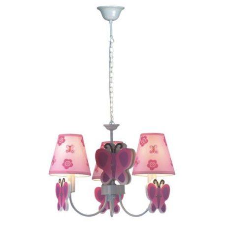 Motylek Żyrandol – klasyczny – kolor różowy