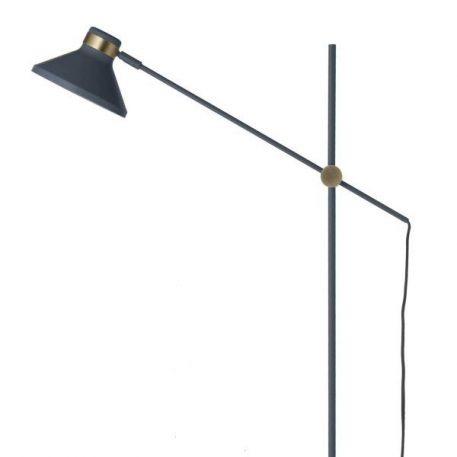Mr  Lampa podłogowa – Styl skandynawski – kolor Niebieski