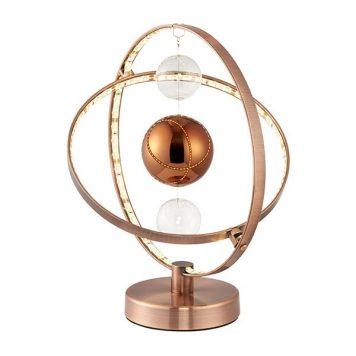 Muni Lampa nowoczesna – Lampy i oświetlenie LED – kolor miedź