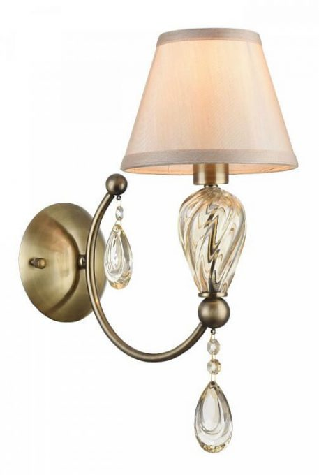 Murano Lampa klasyczna – klasyczny – kolor beżowy, brązowy