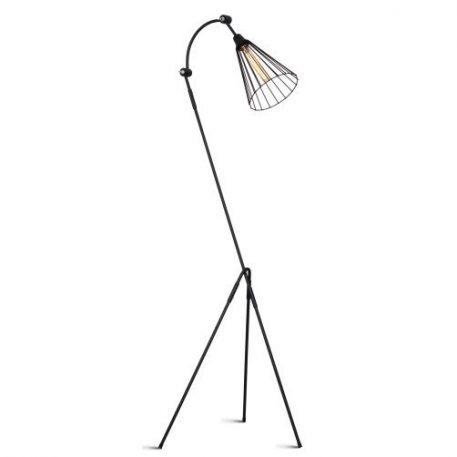Nasto  Lampa podłogowa – Styl nowoczesny – kolor Czarny