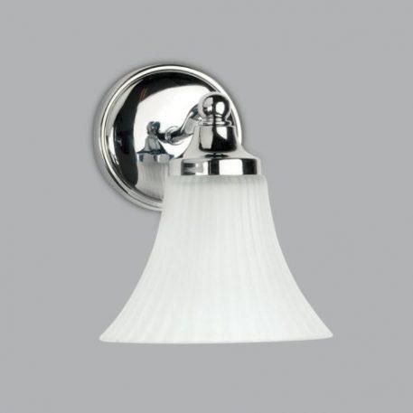Nena Lampa klasyczna – klasyczny – kolor biały, srebrny