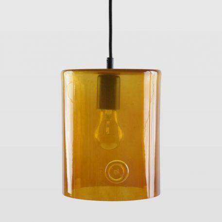 Neo Lampa wisząca – Styl nowoczesny – kolor pomarańczowy, transparentny