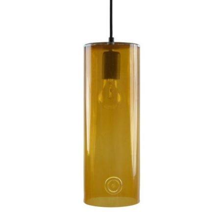 Neo Lampa wisząca – szklane – kolor pomarańczowy, transparentny