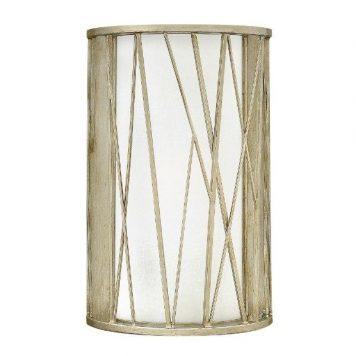 Nest  Lampa nowoczesna – Styl nowoczesny – kolor biały, srebrny