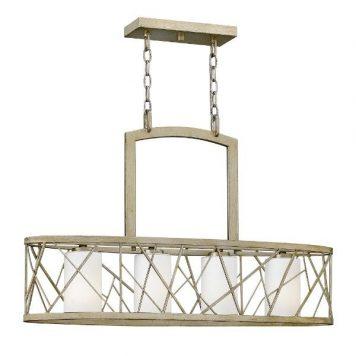 Nest  Lampa wisząca – Styl nowoczesny – kolor srebrny