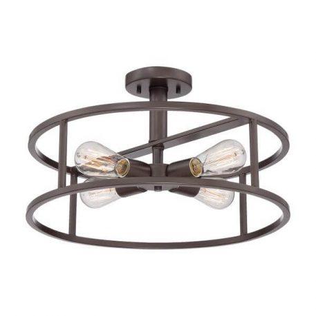 New Harbor Lampa sufitowa – Plafony – kolor brązowy