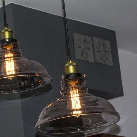 New York Lampa wisząca – kolor złoty, Czarny, Szary