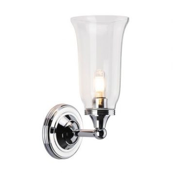 Newport Lampa klasyczna – szklane – kolor srebrny, transparentny