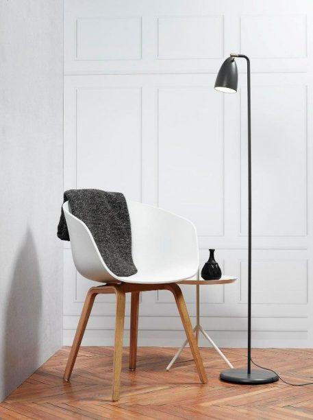 Nexus 10 Lampa podłogowa – Styl nowoczesny – kolor Szary