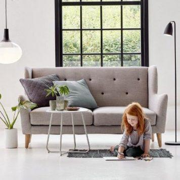 Nexus  Lampa podłogowa – Styl nowoczesny – kolor Czarny