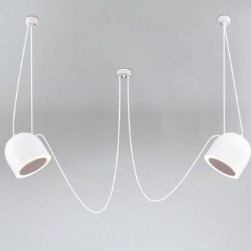 Nexus Lampa wisząca – Styl nowoczesny – kolor biały