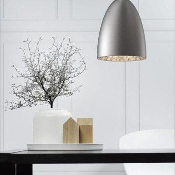 Nexus Lampa wisząca – Styl nowoczesny – kolor srebrny