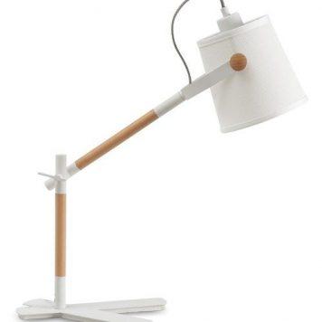 Nordica Lampa skandynawska – Biurkowe – kolor biały