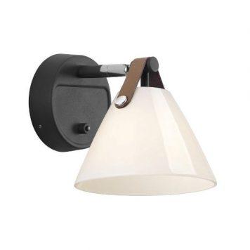 Nordlux  Lampa skandynawska – Styl skandynawski – kolor biały, Czarny