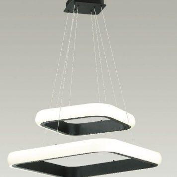 Omega  Lampa wisząca – Styl nowoczesny – kolor biały, Czarny