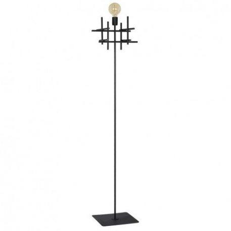 Onuris  Lampa podłogowa – industrialny – kolor Czarny