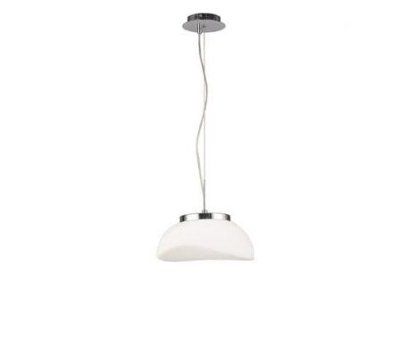 Opal  Lampa wisząca – Styl nowoczesny – kolor biały, srebrny