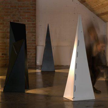Origami Lampa skandynawska – Styl nowoczesny – kolor biały