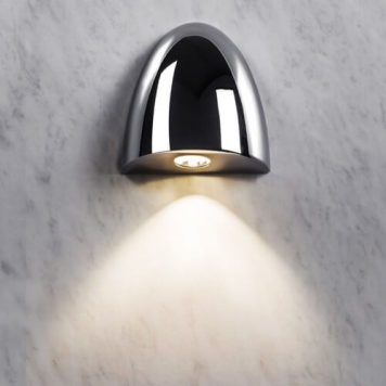 Orpheus Lampa nowoczesna – Lampy i oświetlenie LED – kolor srebrny