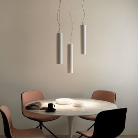 Osca 400 Lampa wisząca – Gipsowe – kolor biały