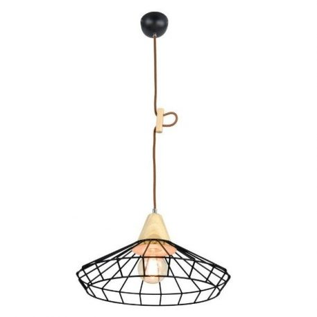 Oslo  Lampa wisząca – industrialny – kolor Czarny
